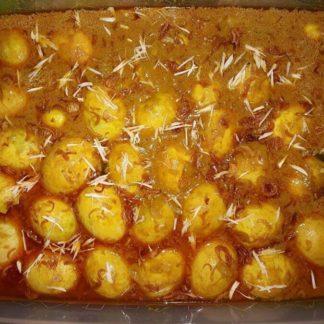 egg dim bhuna desh catering