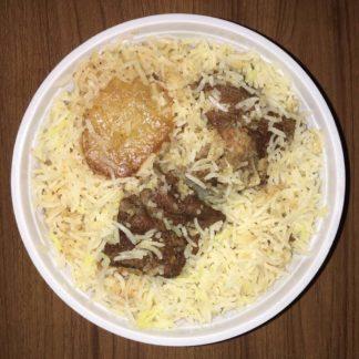 basmati mutton kacchi biryani desh catering dhaka