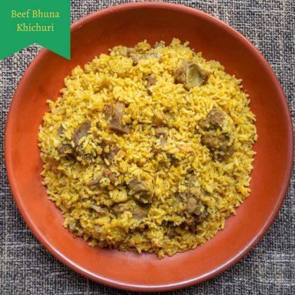 Beef Bhuna Khichuri