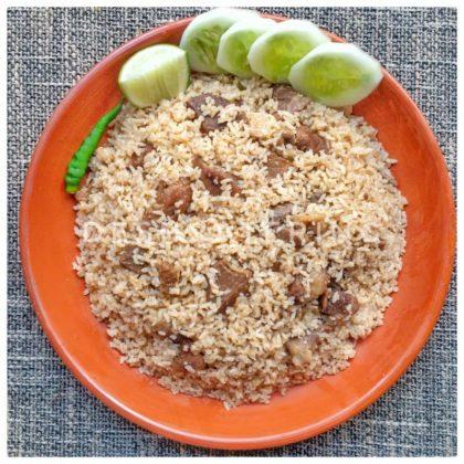 Special Mutton Tehari