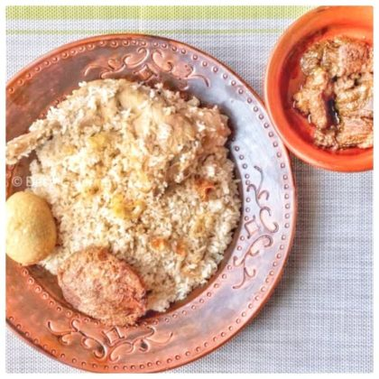 morog polao + Beef Bhuna + Jali Kabab