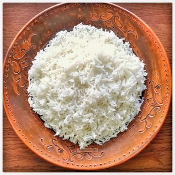 White Rice Basmati