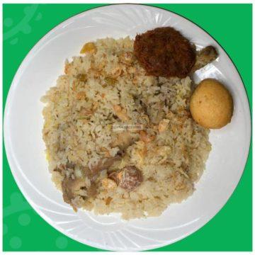 Morog Polao Kabab