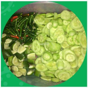 piece salad