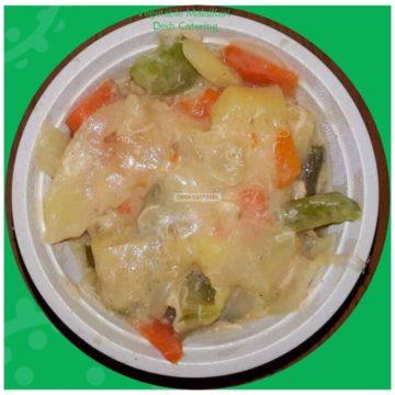 vegetable malai curry