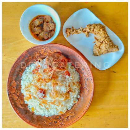 Shahi Polao + Roast + Beef Rezala + Kabab